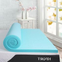 Hifort Queen Size Mattress Topper 3 Inch, Cooling Gel Memory