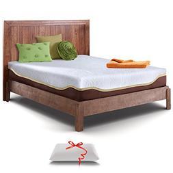 Live and Sleep Mattress, 10 Inch Gel Memory Foam Mattress in