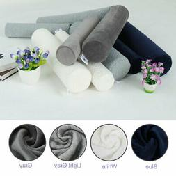 Round Memory Foam Pillow Cervical Roll Neck Support Pillow K