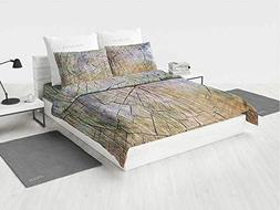 Rustic Home Decor McQueen Toddler Bedding Set Annual Rings o
