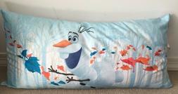"Disney's Frozen 2 Kids Body Pillow, Kids Bedding 18""x36"""