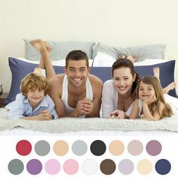 PiccoCasa Satin Body Pillow Cover Long Pillowcases Silky Coo
