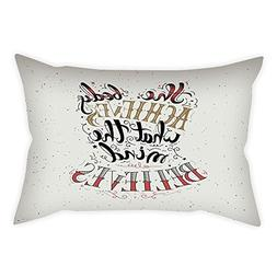 iPrint Satin Throw Pillow Cushion Cover,Fitness,The Body Ach