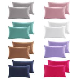 100% Egyptian Cotton Body Pillowcase 300TC Pillow Cover Soli
