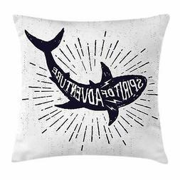 Shark Sea Throw Pillow Cases Cushion Covers Home Decor 8 Siz