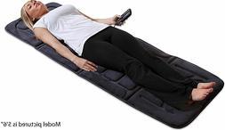 Full Body Massage Mat, 10-Motor Vibrating Heading Mat Mattre