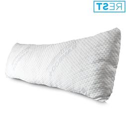 REST Home Collections Premium Bamboo Pillow, Made with Eco-C