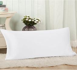 THXSILK 19 Momme Mulberry Silk Body Pillow Cover Pillowcase