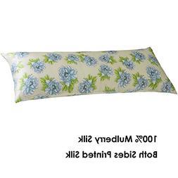 Cozysilk Silk Body Pillowcase with Zipper, 100% Silk on Both