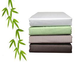 Cheer Collection Silky Soft Luxurious Bamboo Sheet Set, King