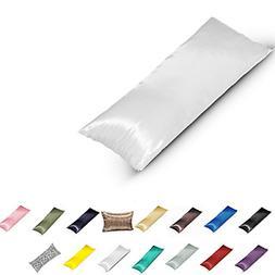 TAOSON Silky Soft Satin Body Pillow Cover Pillowcase Pillow