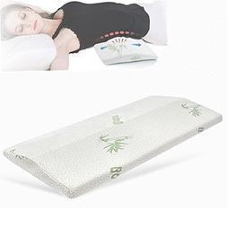 SMELOV Sleeping Pillow for Lower Back Pain,Memory Foam Multi