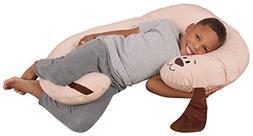 Leachco Snoogle Jr. - Luxuriously Soft Plush Puppy with Zipp