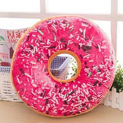 Iuhan Fashion Soft Plush Pillow Stuffed Seat Pad Sweet Donut