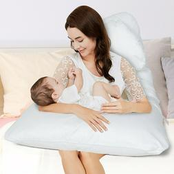 Soft U Shaped Pregnancy Pillow Full Body Maternity Support S