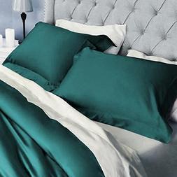 SplendidHome Solid 100% Premium Cotton Sateen Pillow Sham Co