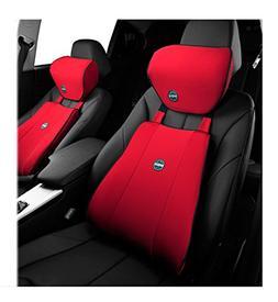 Premium Space Memory Foam Car Seat Lumbar Support Cushion an