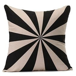 SODIAL Square Printed Waist Pillow Cases Car Home Sofa Decor