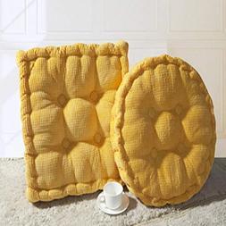 MEIZOKEN 1PC Square Round Thick Hemorrhoid Chair Pad Seat Cu