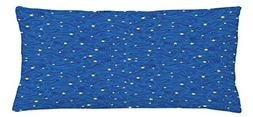 Ambesonne Starry Night Throw Pillow Cushion Cover, Stars and