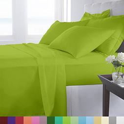 Supreme Super Soft 4 Piece Bed Sheet Set Deep Pocket Bedding