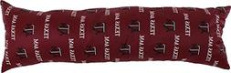 College Covers TAMDP60 Texas A&M Aggies Printed Body Pillow,