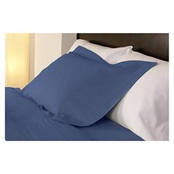 temperature regulating pillowcases midnight blue