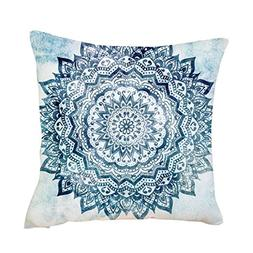 Iuhan Throw Pillow Case Cushion Cover, Exquisite Pillow Case