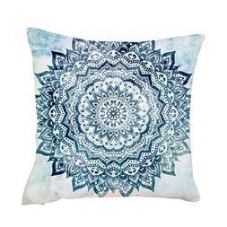 Iuhan Throw Pillow Case Cushion Cover, Exquisite Pillow Case