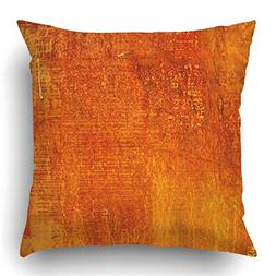 Emvency Throw Pillow Covers Colorful Burnt Abstract Grunge M