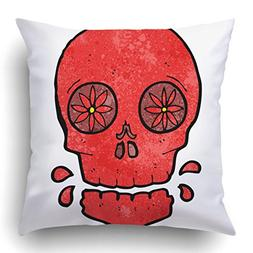 Emvency Throw Pillow Covers Drawing Cartoon Mexican Candy Sk