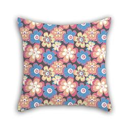 Artistdecor Throw Pillow Covers Of Flower 20 X 20 Inches / 5