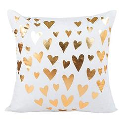 OCASHI Throw Pillow Covers Gold Print pillow covers Decorati