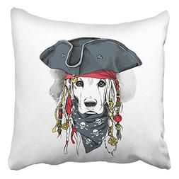Emvency Throw Pillow Covers Portrait A Cocker Spaniel Dog In