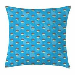 Thunder Throw Pillow Cases Cushion Covers Ambesonne Home Dec
