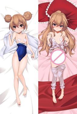MMF Toradora! anime characters Taiga Aisaka & Minori Kushied