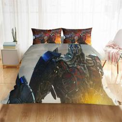 Transformer Diamond Body 3D Quilt Duvet Doona Cover Set Pill
