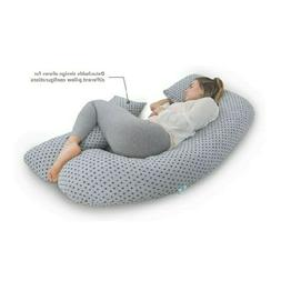 U-Shape Full Body Pregnancy Pillow + Detachable Extension Gr