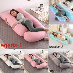 U Shape Maternity Pillow Pregnancy Full Body Pillow Sleeping