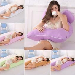 U Shape Pregnancy Pillow-Full Body Pillow for Maternity & Pr