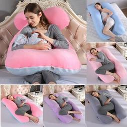 U Shape Pregnancy Pillow Oversized Comfort Maternity Full Bo