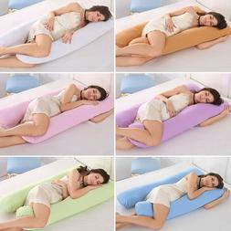 U-Shaped Full Body Pregnancy Pillow Maternity Side Sleeping