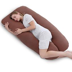 Meiz Unique C-Shaped Maternity Pillow - for Side Sleeping -
