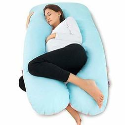 Meiz U Shaped Body Pregnancy Maternity Pillow with Zipper Re