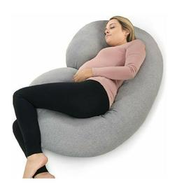 PharMeDoc C-Shaped Pregnancy Pillow, Total Body Pillow