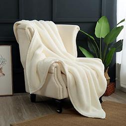 Reafort Ultra Soft Double Layer Sherpa Warm Plush Oversized