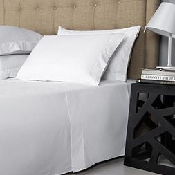 Unique Hotel Collection -- Solid White 400 Thread Count Ultr