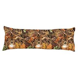 UOOPOO Buck in Fall season scene White Tail Deer Polyester B