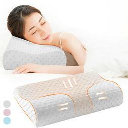 US Memory Foam Pillow Bamboo Pillow Cervical Pillow Neck Pai