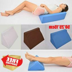 USA Foam Wedge Pillow Triangle Pillow With Clever Shape, Sof